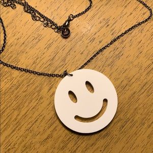 Alex and Chloe Smile Necklace with Box
